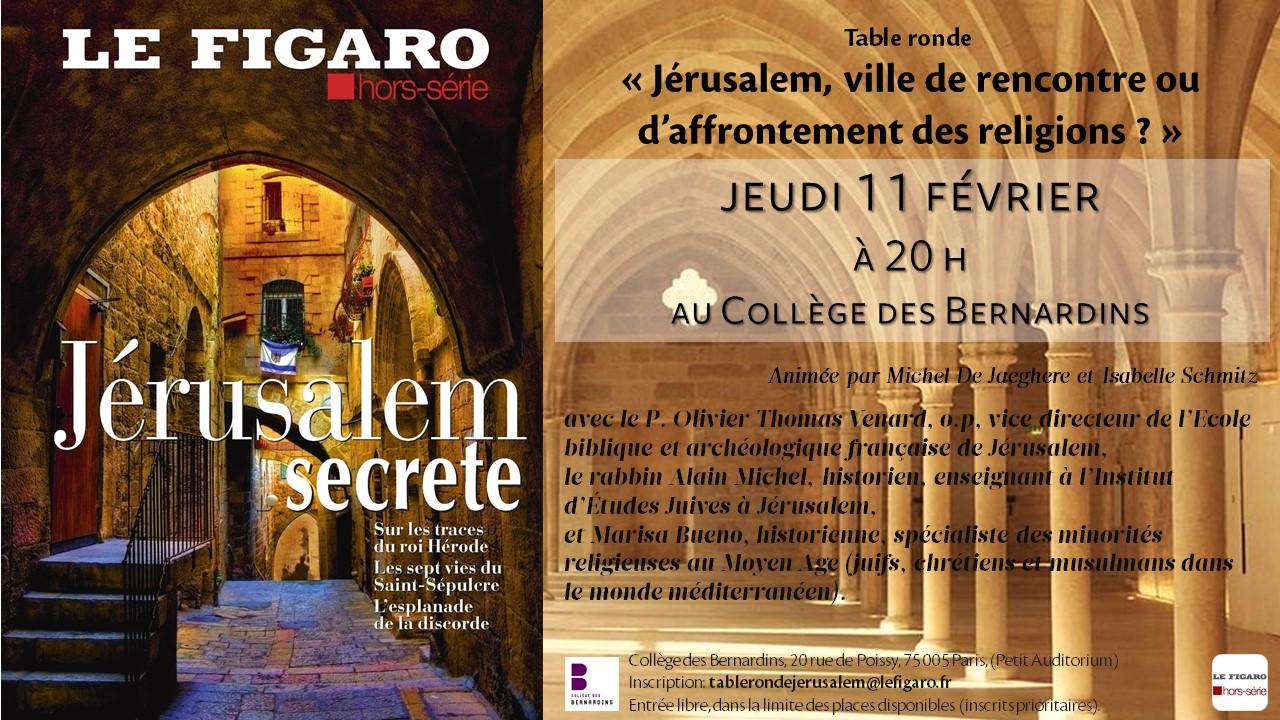 Visuel jerusalem bernardins modif 4 fevrier