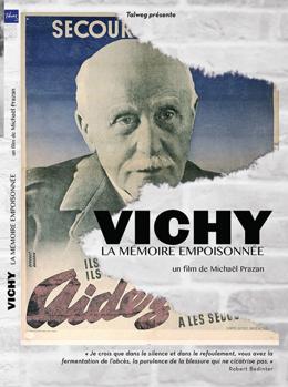 """Première de couverture DVD """"Vichy, la mémoire empoisonnée"""""""