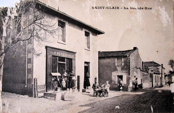 Carte postale Saint Clair-GrandeRue