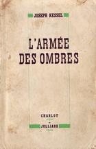 L'Armée des ombre couverture édition de 1943
