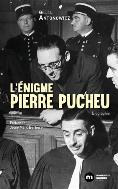 Photo Couverture L'énigme Pierre Pucheu